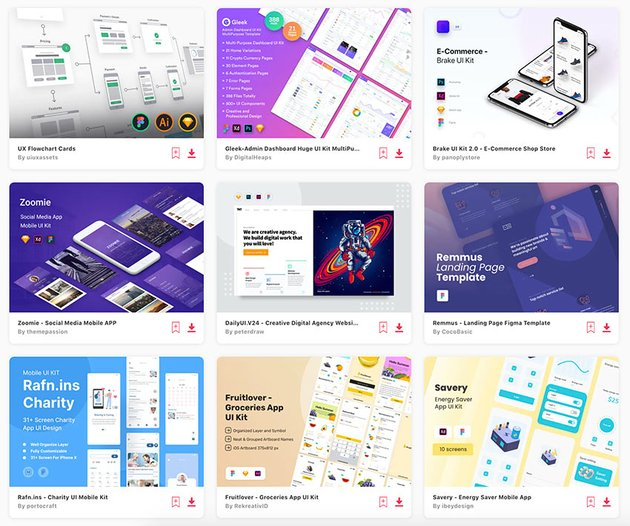 The best Figma wireframe kits and UI kit examples are on Envato Elements.