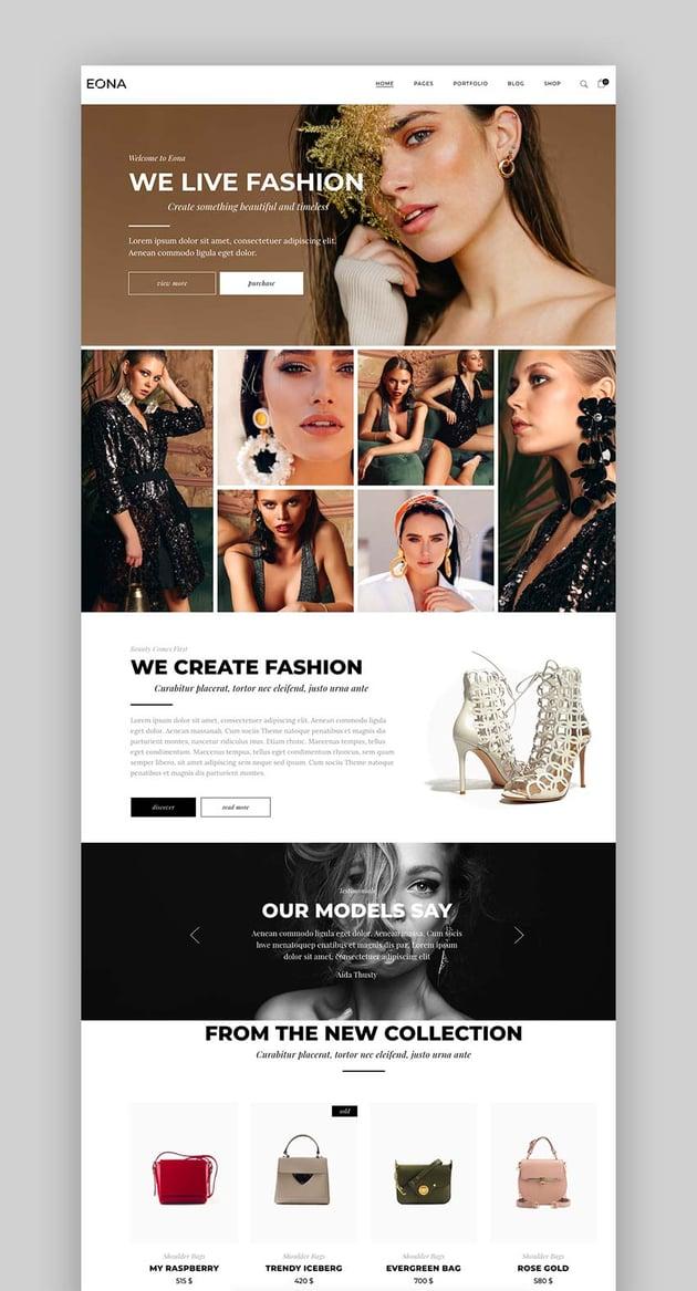 Eona - Fashion Theme
