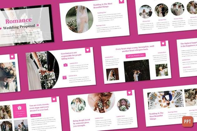 Romance - Wedding Organizer Powerpoint