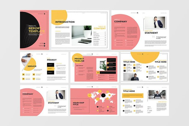 Friday - Annual Report Template