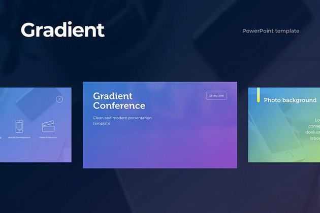 Gradient PowerPoint Template