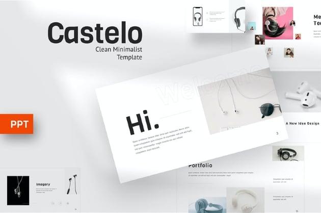 Castelo - Music Powerpoint Template