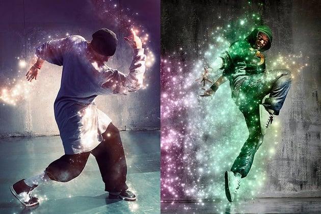 Magic Dust Photoshop Action (ATN)