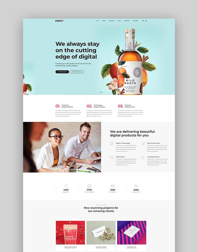 Pofo - Creative Multipurpose Basic HTML Template
