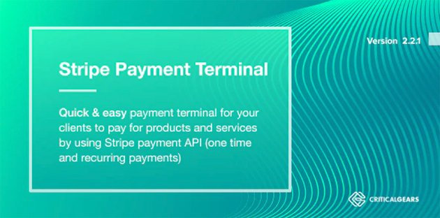 Stripe Payment Terminal - PHP Shopping Cart