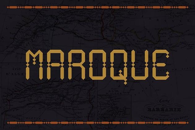 Maroque Arabic Font Download