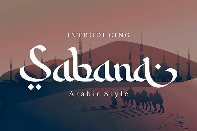 Sabana Arabic Style Font Download