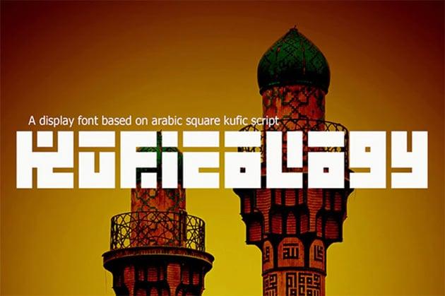 Kufication Kufic Arabic Font
