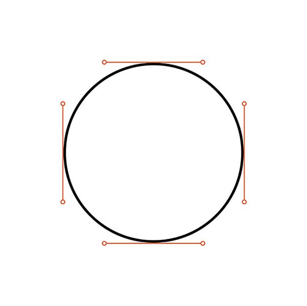 How to Hand Letter In Illustrator Tutorial Handling Bezier Circle Construction