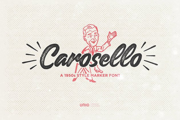 Carosello Font Download Cursive
