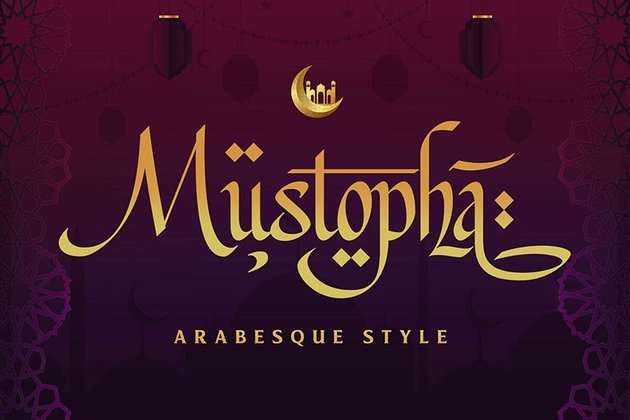Mustopha Arabic Style Font