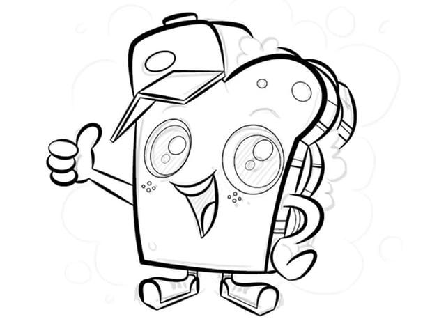 Mascot Logo Design adobe illustrator character width tool variation tool line weight mascot sandwich