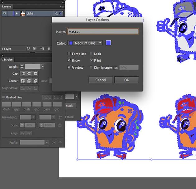 Mascot Character Design Tutorial group each digital mascot design