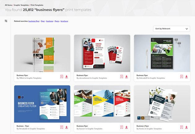 Thousand of creative business flyer designs on Envato Elements - flyer inspiration 2021