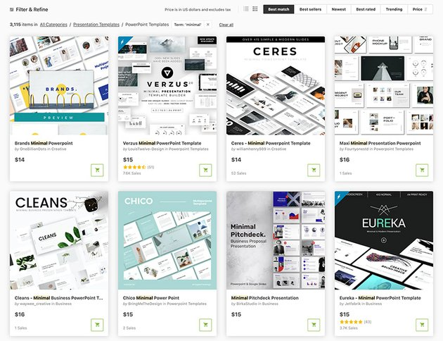 GraphicRiver Simple PPT Templates For Project Presentations