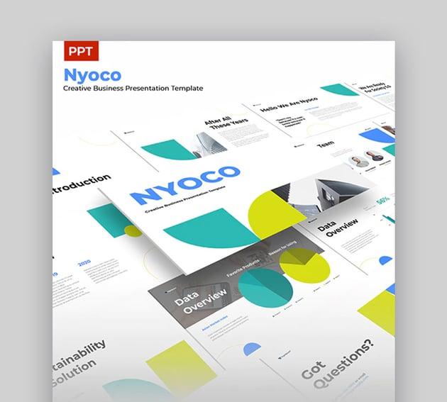 Nyoco Simple PowerPoint Theme