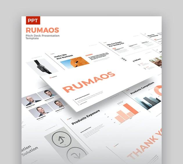 Rumaos Download Template PPT Simple