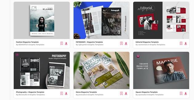 Magazine Templates with Creative Magazine Layouts on Envato Elements