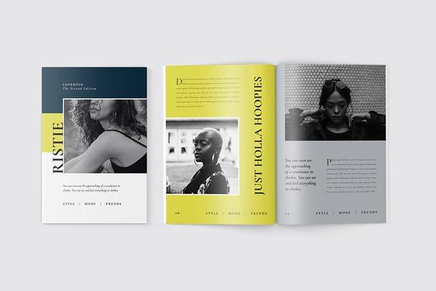 Creative Modern Magazine Layout