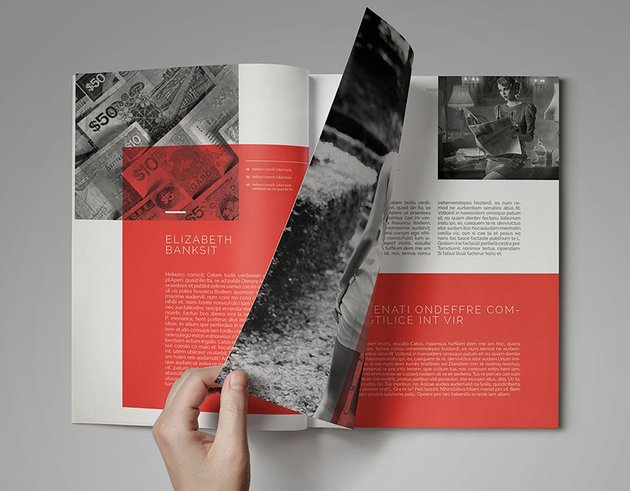 Clean Design Magazine InDesign Template