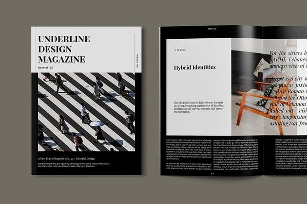 Design Magazine InDesign Template