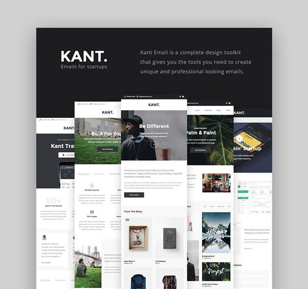 Kant - Best Newsletter Templates
