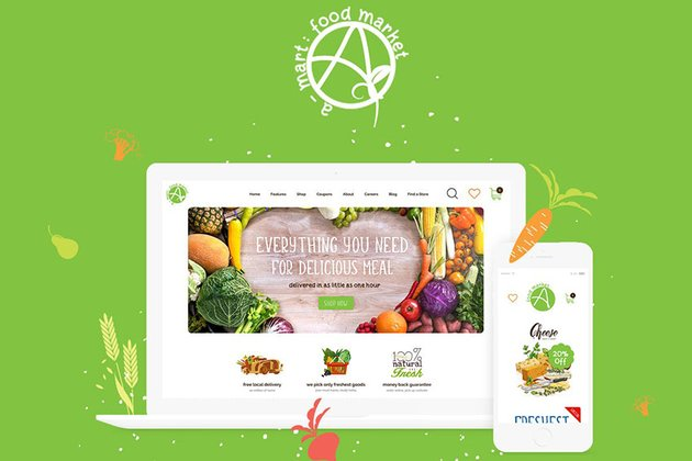 A Mart Best Shopify Themes for eCommerce