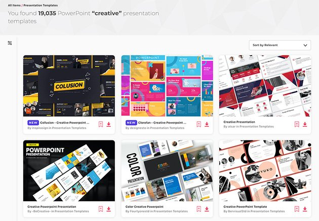 Creative PowerPoint PPT templates