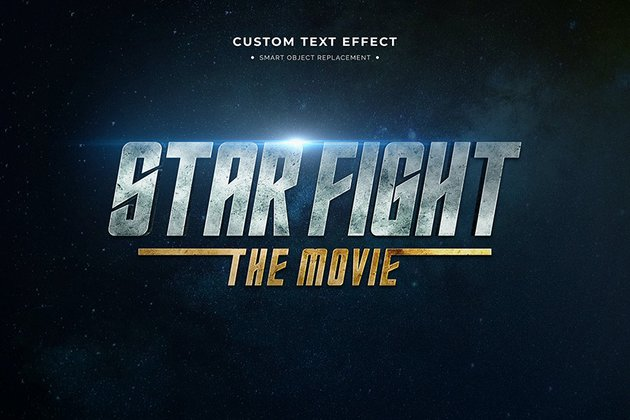 Futuristic Cool Text Effects Photoshop