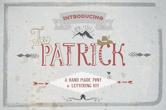 Patrick Decorative Script Font