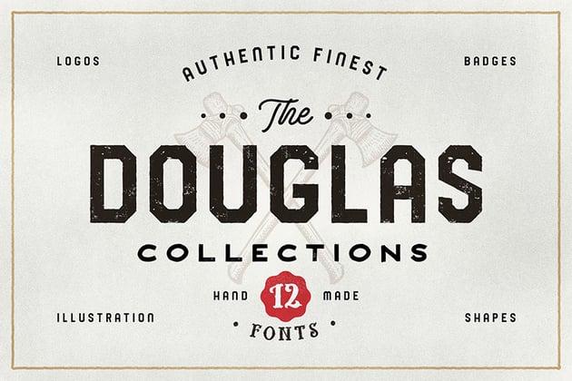 The Douglas Best Sans Serif Fonts