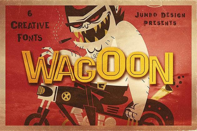 Wagoon Bold Sans Serif Fonts