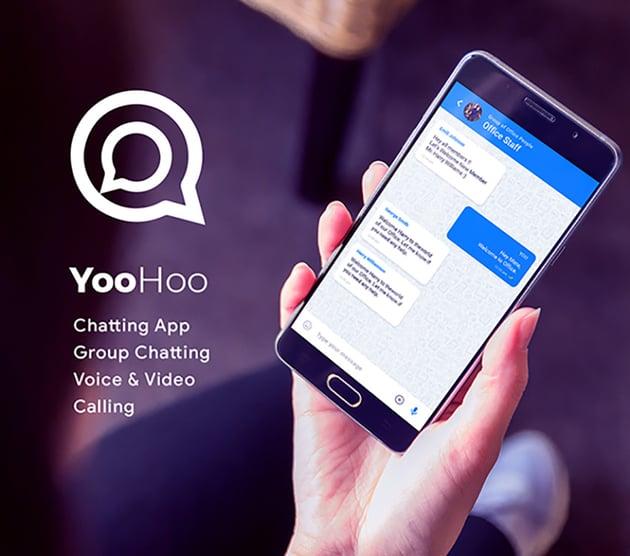 YooHoo Chat App Using Firebase