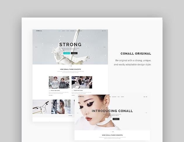 Conall Inspiration WordPress Theme