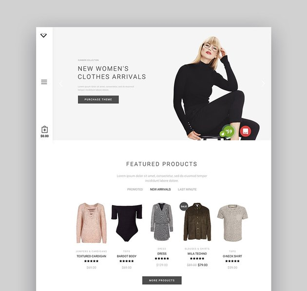 XStore Minimalist E-Commerce Clean Design WordPress Theme