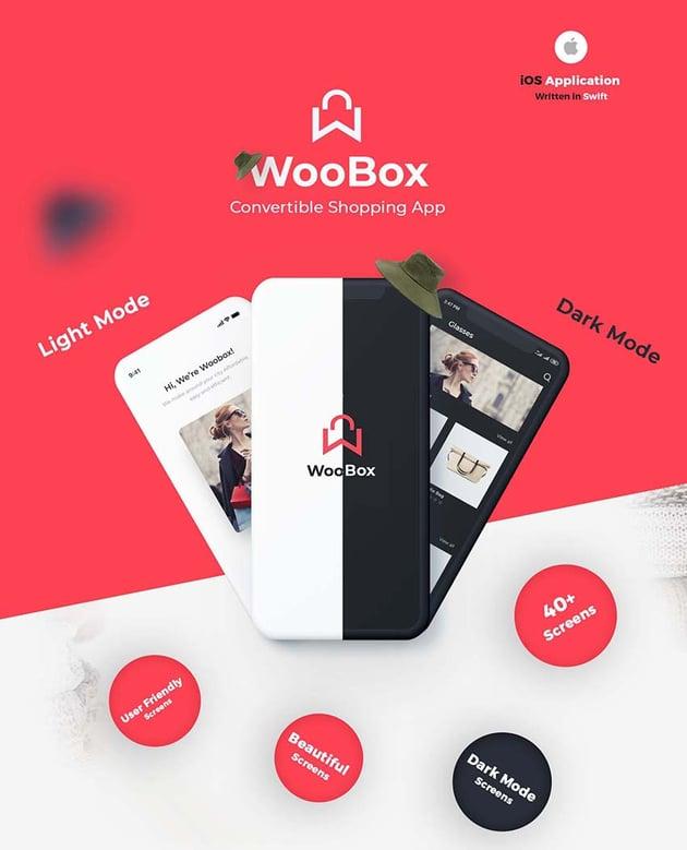 WooBox eCommerce iOS Template