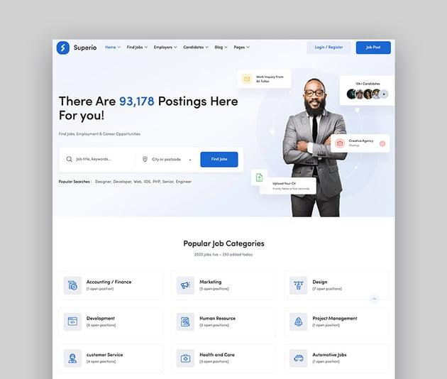 Superio WordPress Job Board