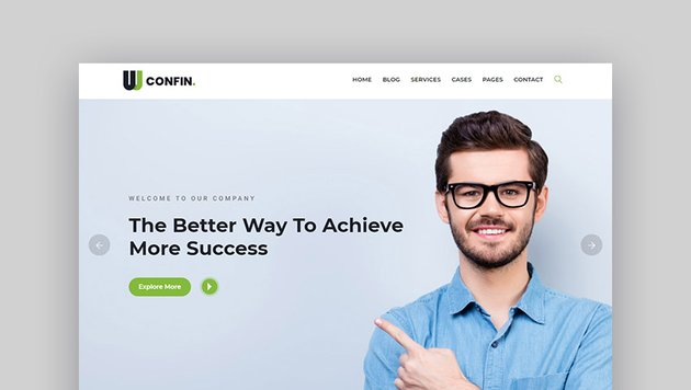 Confin Consulting Experts WordPress Theme