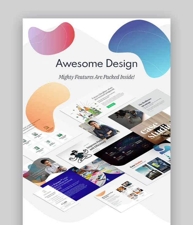Nifty Consulting Experts WordPress Theme