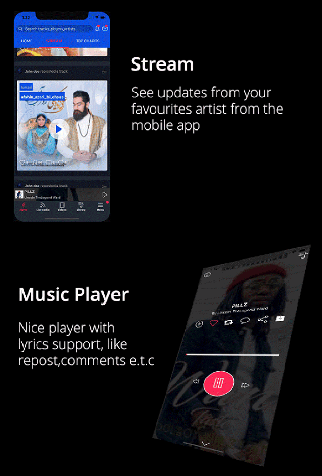 Soundkit - React Native App for Ios and Android