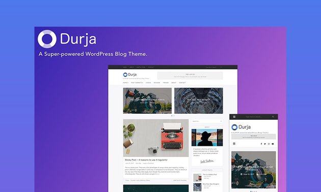 Durja Video Elements WordPress Theme