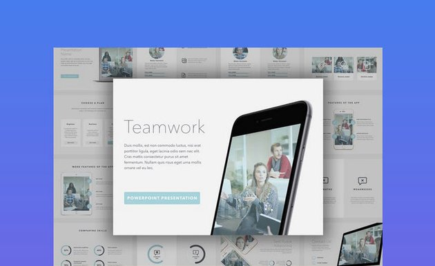 Teamwork Cool PPT Slides