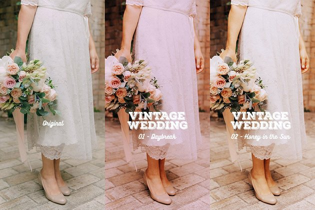 Vintage Wedding Old Photo Effect Photoshop Action
