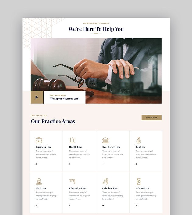 Zelwn HTML Lawyer Template