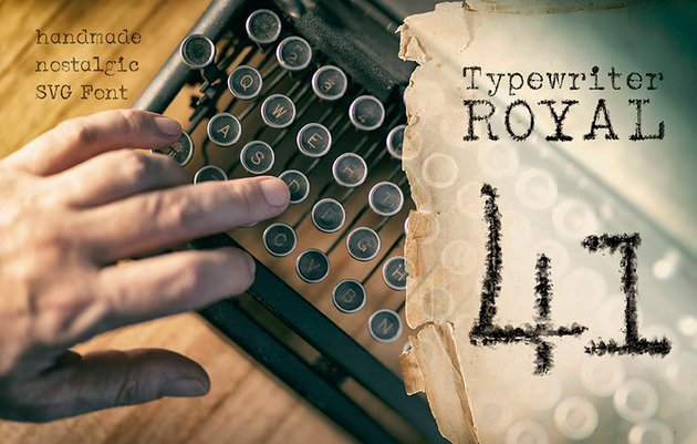 1941 Typewriter Font Download