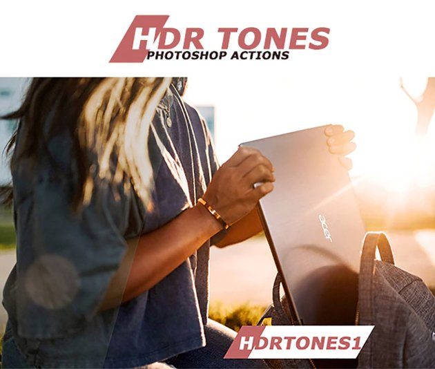 HDR Tones Photoshop Actions