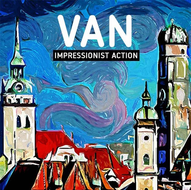 VAN - Impressionist Painting Action