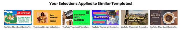 Similar Social Media Design Templates