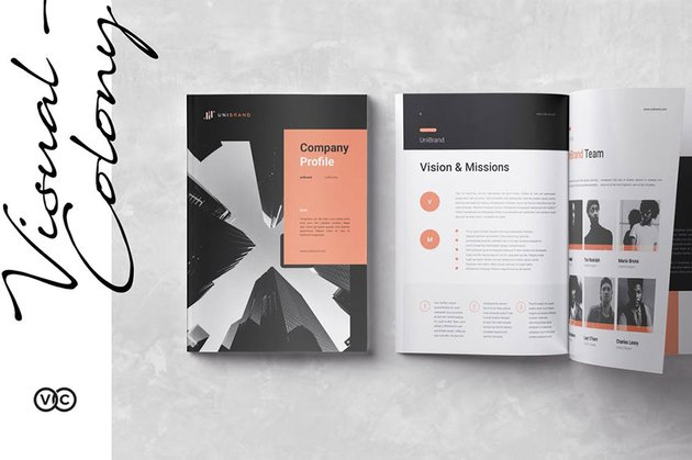 Company Profile Newsletter Template