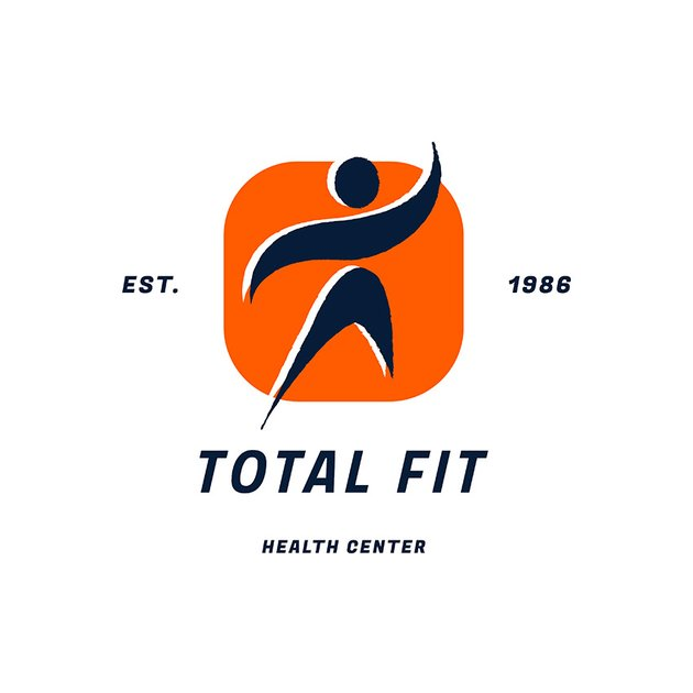 Health Center Logo Generator With Abstract Illustration